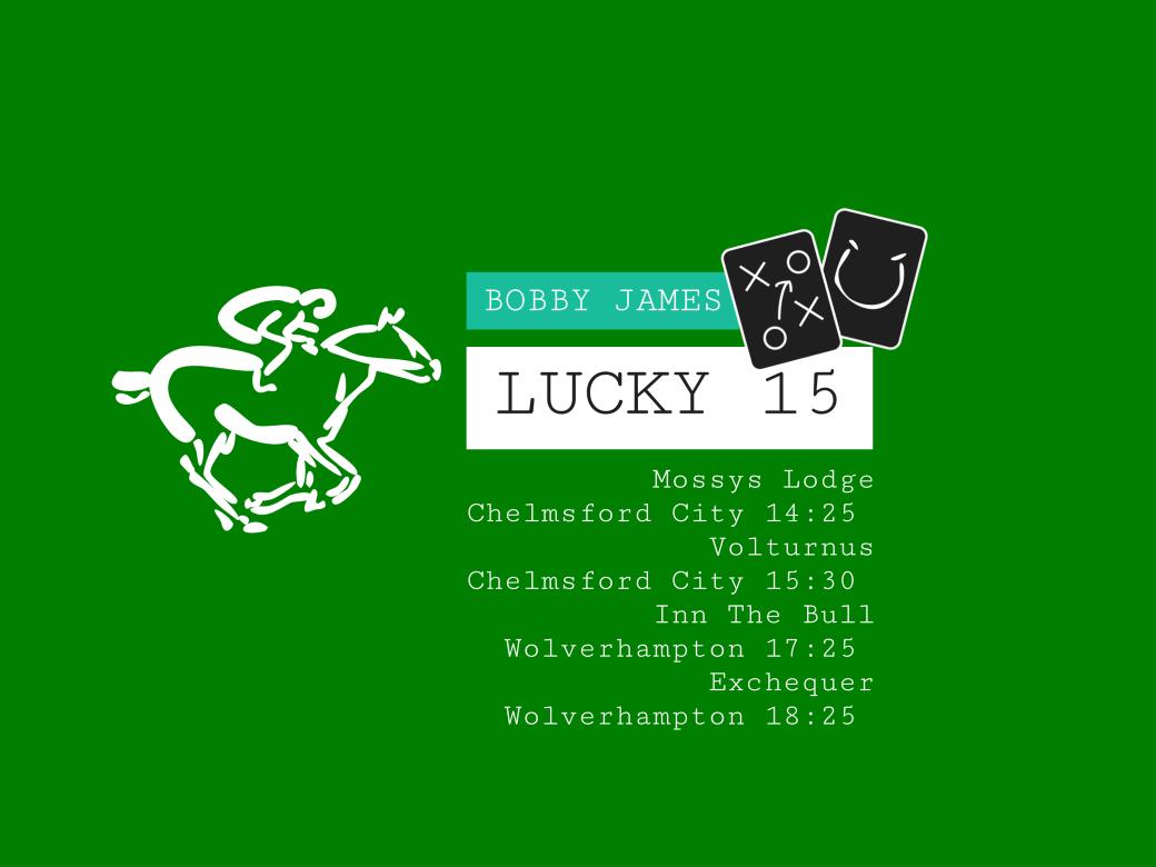 bobby james lucky 15